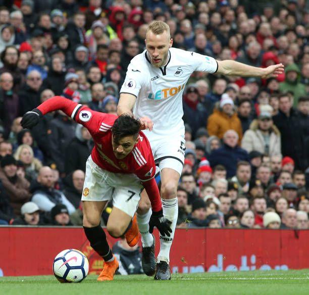 Manchester United v Swansea City - Premier League   Swansea, Premier League  and Manchester united football