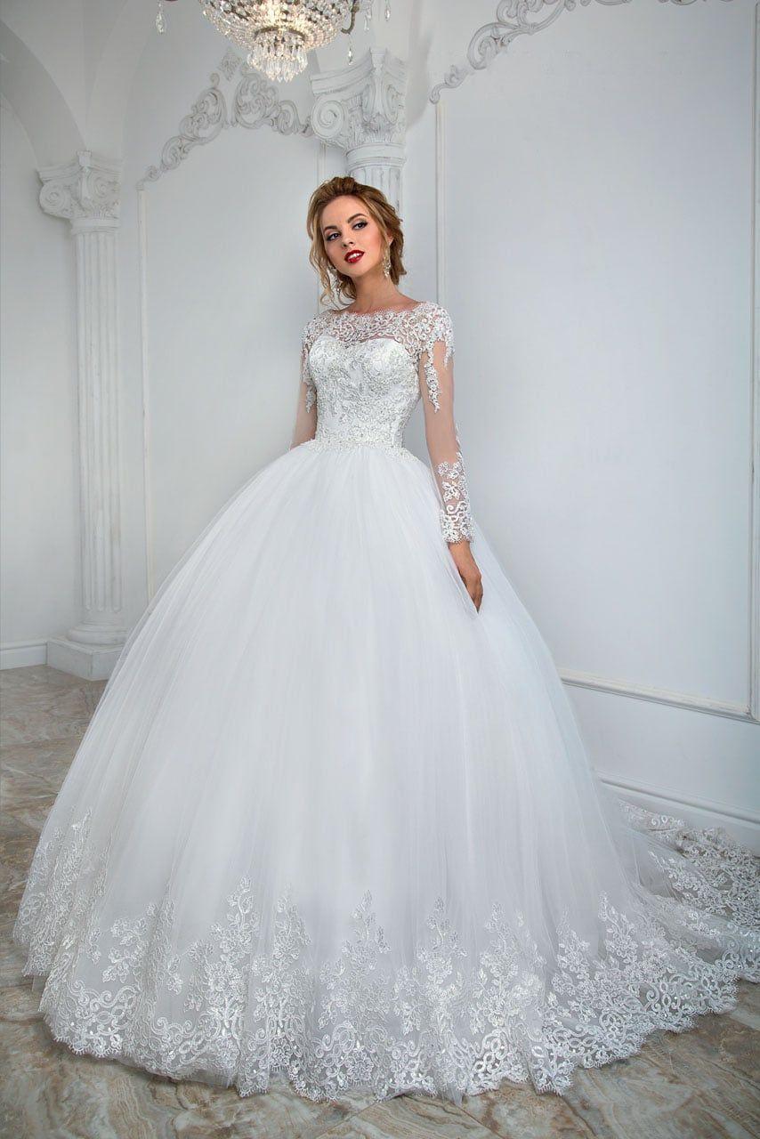 4794784e90bbda2 Свадебное платье Анна Кузнецова Lauretta ▷ Свадебный Торговый Центр Вега в  Москве