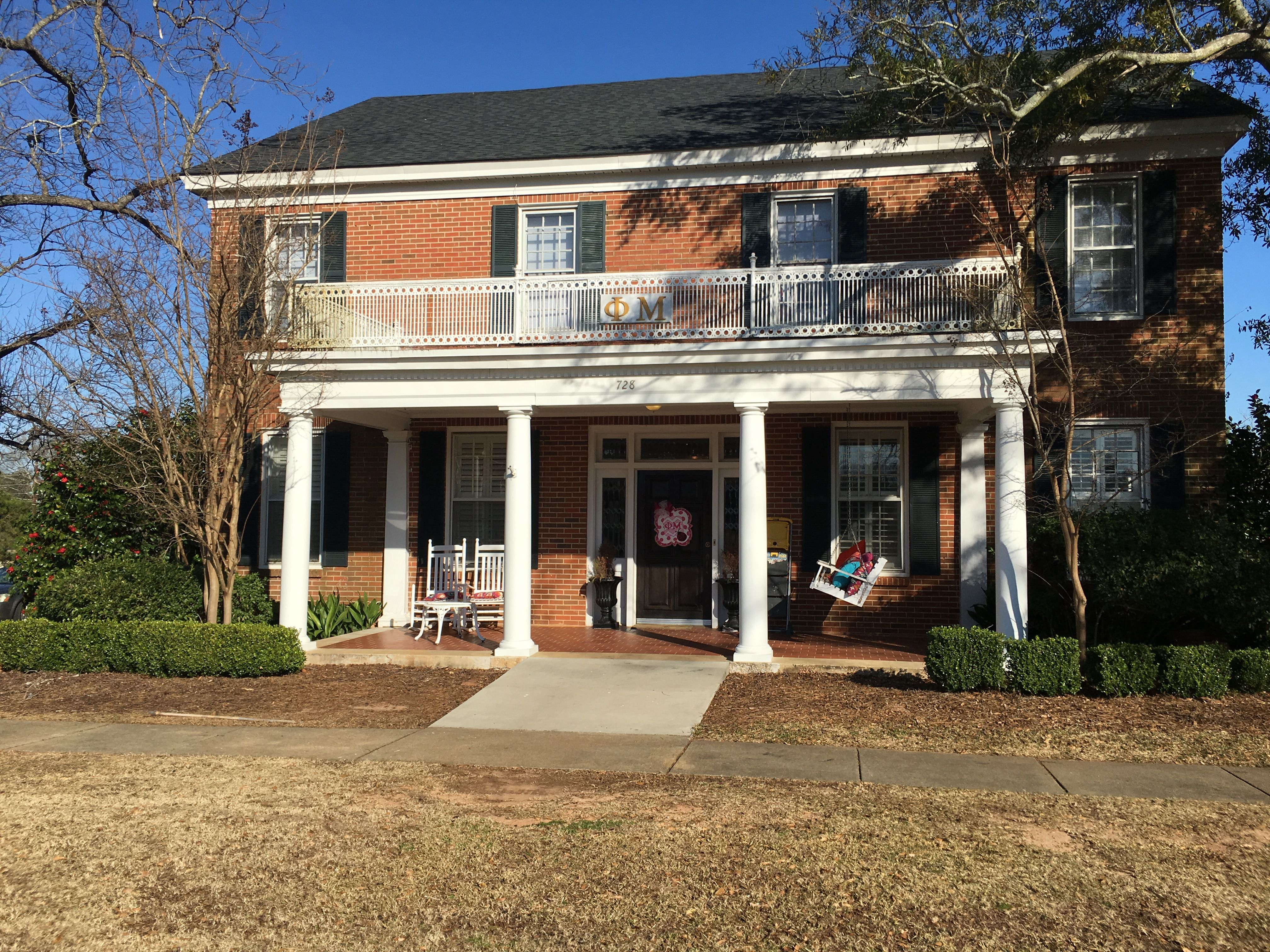 Usc Gamma Phi Beta Sorority House University Of South Carolina