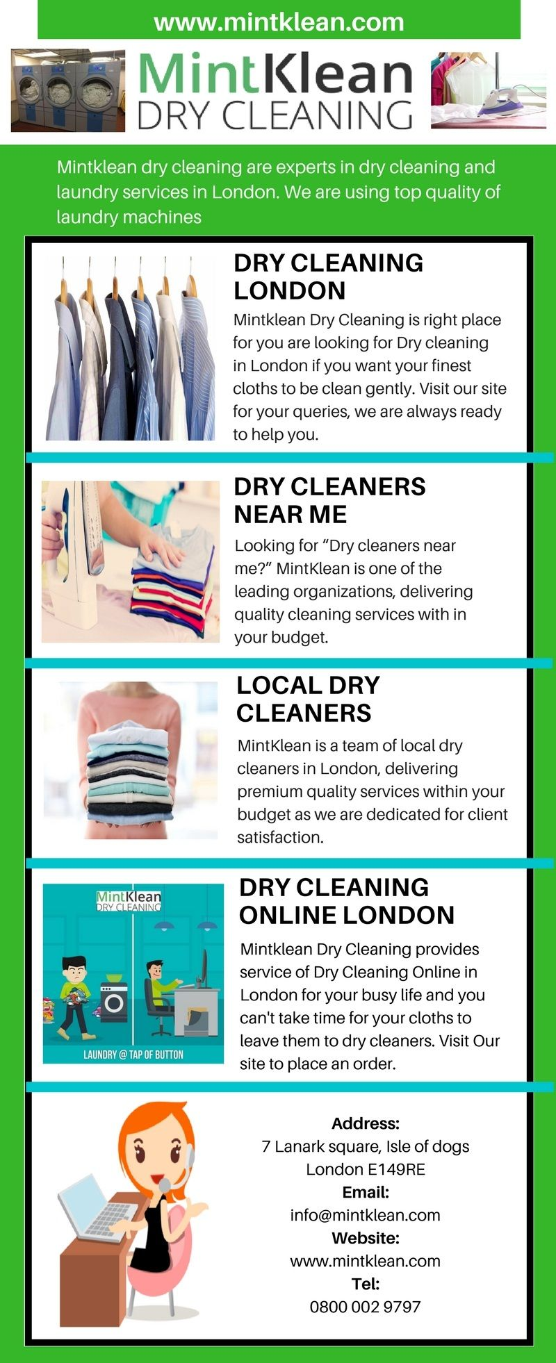 Pin by Mintklean.Dry Cleaning on Dry cleaners London