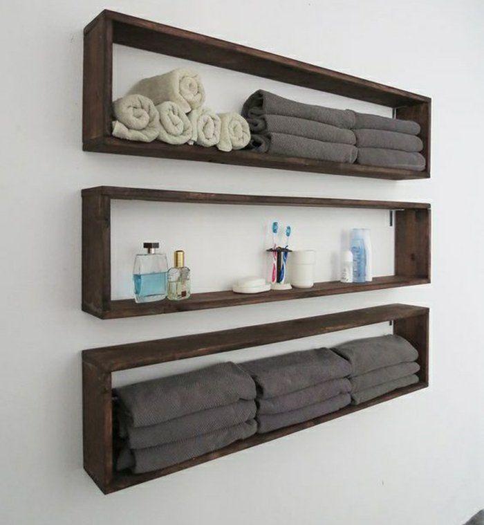 Badezimmer Regal Holz Weiß