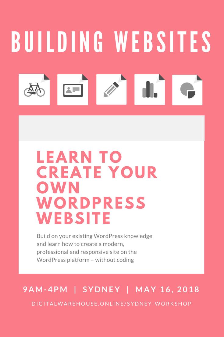 Create your own WordPress website WordPress