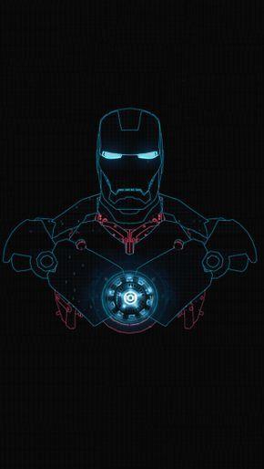 Iron Man Glow The Iphone Wallpapers Iron Man Wallpaper Iron