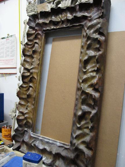 Modern Renaissance Gold Leaf Studios Paper Mache Crafts