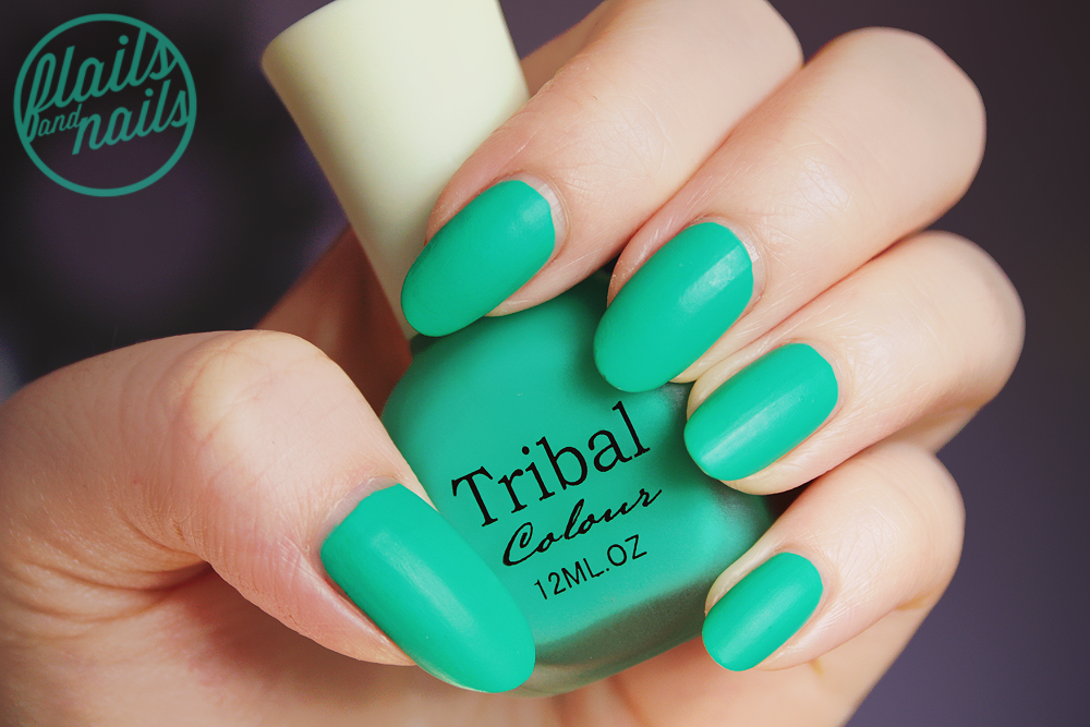 Flails and Nails: Tribal Candy Color Frosted Matte Glossy Nail ...