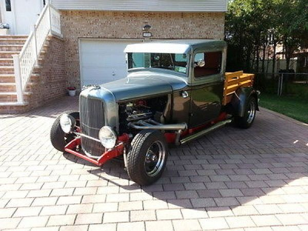 Ford : Other Custom-crafted wood bed 1933 Ford Custom Pick-Up Street Rod - http://www.legendaryfind.com/carsforsale/ford-other-custom-crafted-wood-bed-1933-ford-custom-pick-up-street-rod-2/