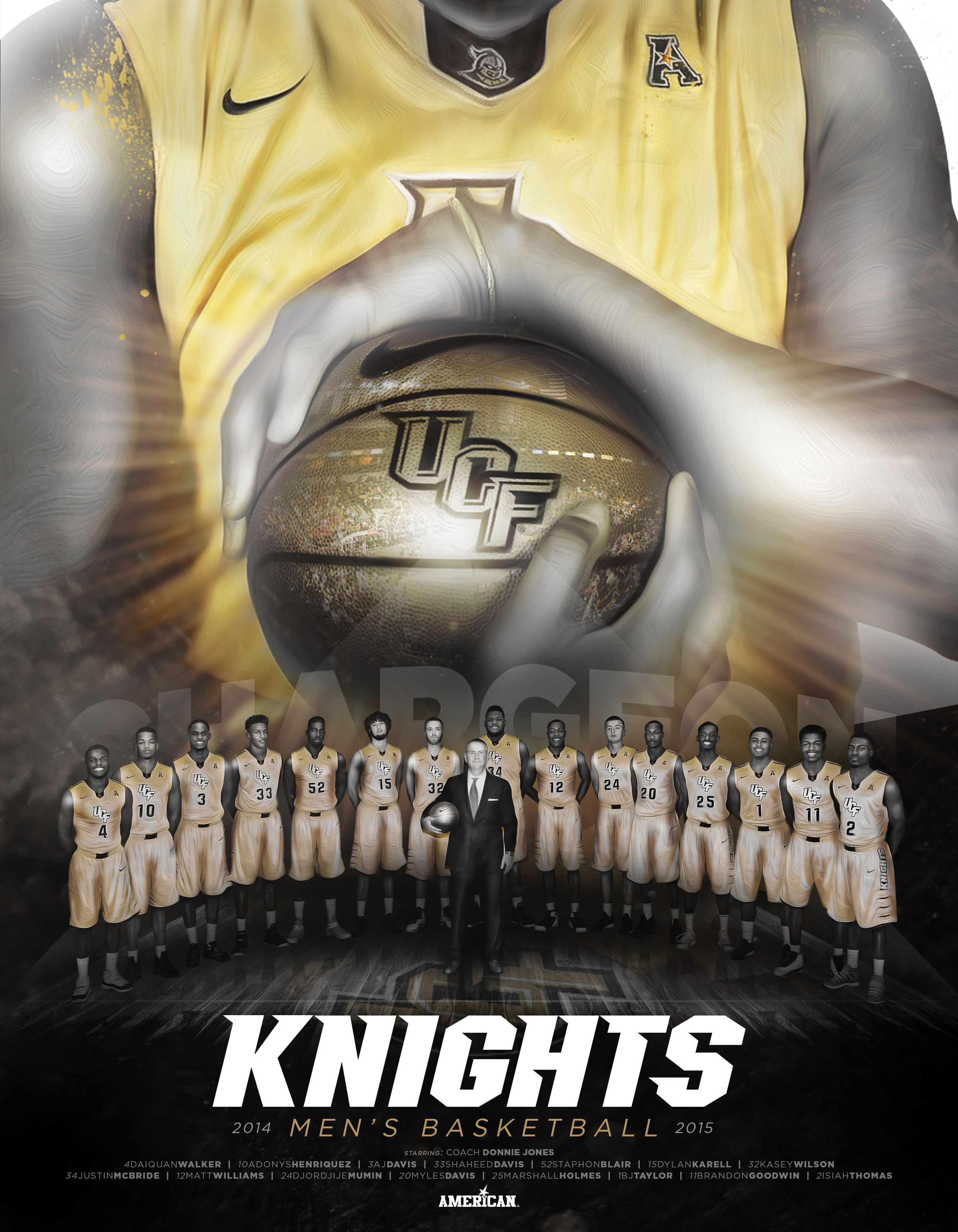 ucf men s basketball ucf knights posters 2014 15 ucf men s basketball