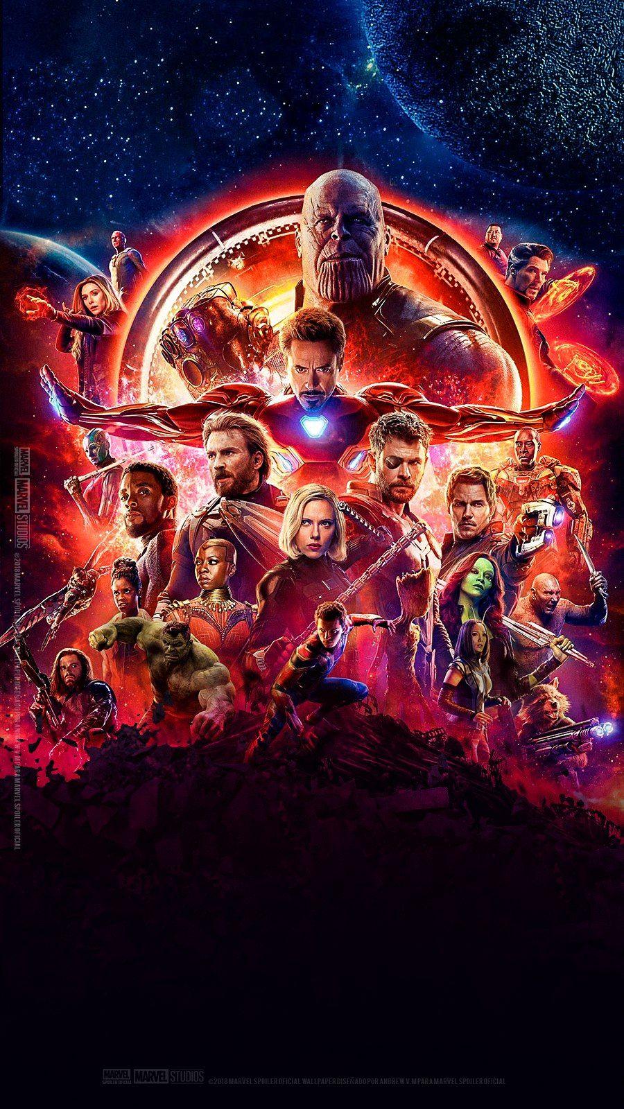 Avengers Infinitywar Marvel Mcu Thanos Wallpapers Pinterest