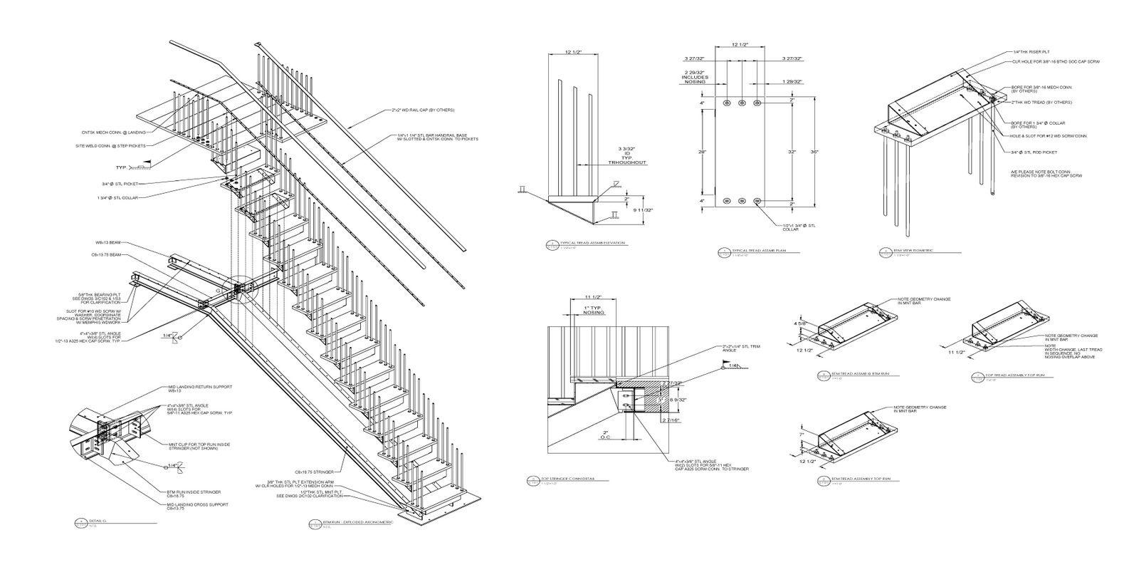 Wood Stair 006 Jpg 1600 824 Stair Detail Steel Stairs Stair Layout