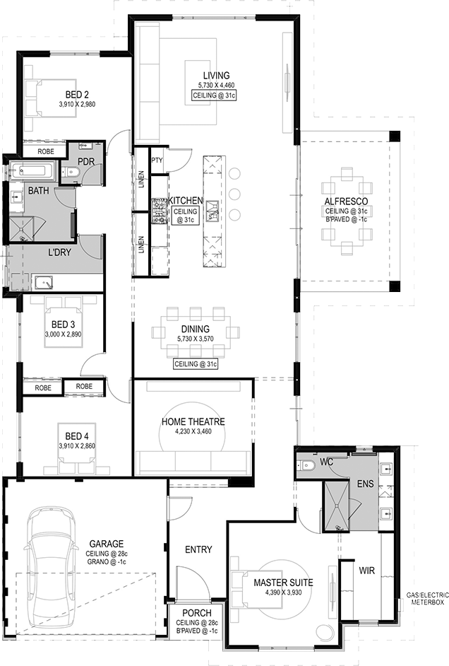 Pin By Cetin On Post Rolly Favs Architectural Floor Plans House Design Home Design Floor Plans