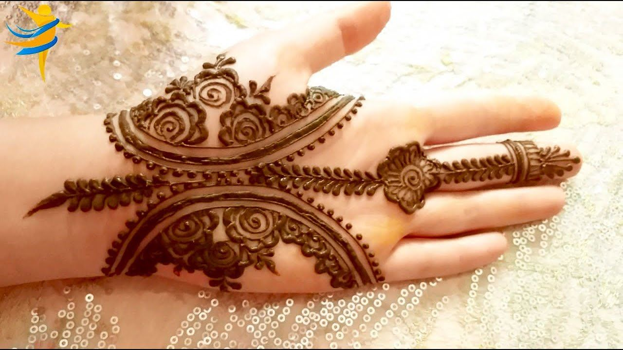 Easy Mehndi Design Simple Mehndi Designs Mehndi Simple Henna Designs Hand