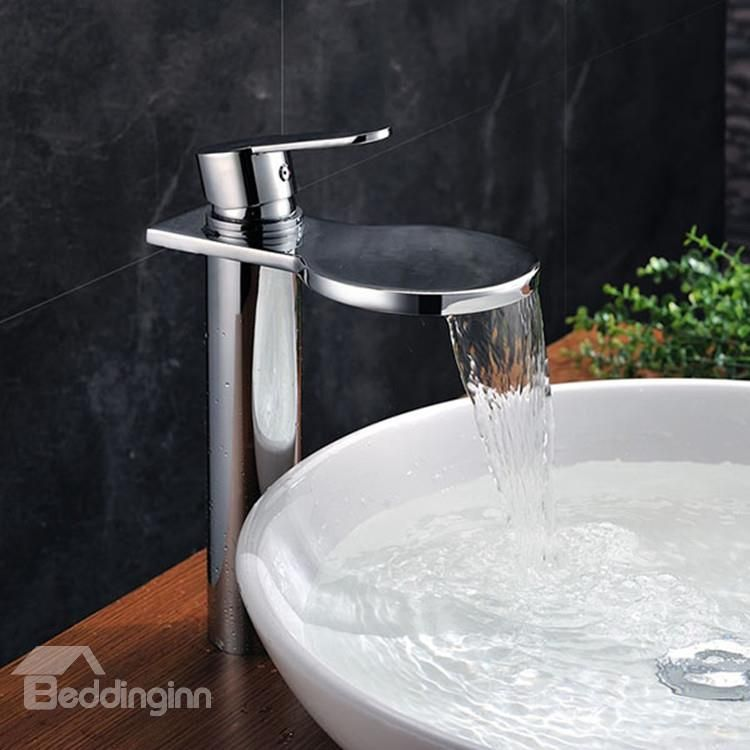98 00 New Style Amazing One Handle Waterfall Bathroom Sink Faucet Sink Faucets Bathroom Sink Taps Bathroom Sink Faucets