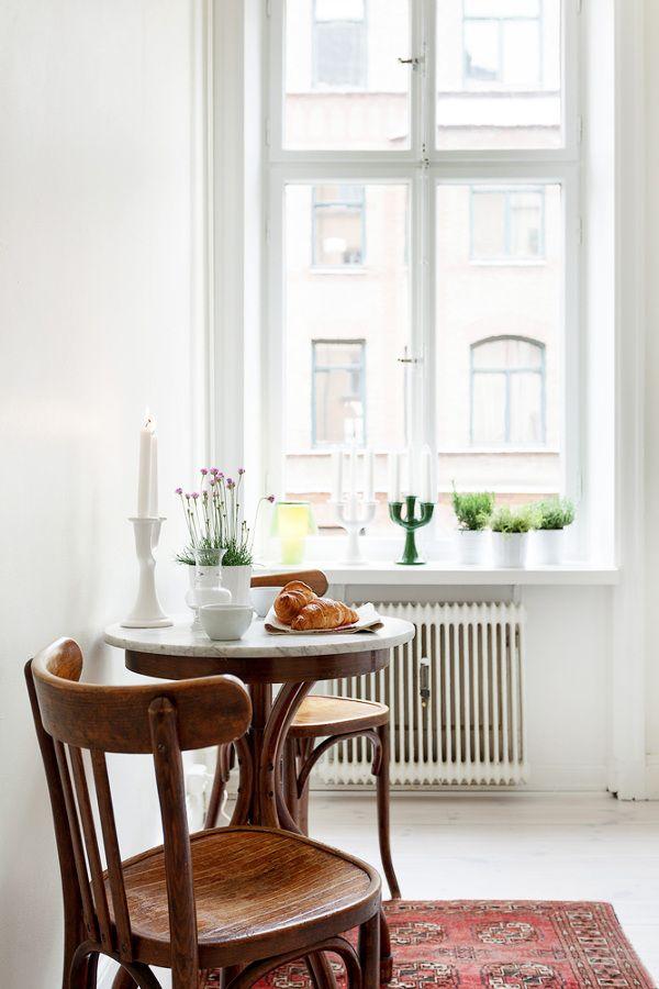 Creando un pequeño comedor en la cocina | Interiores | Pinterest ...