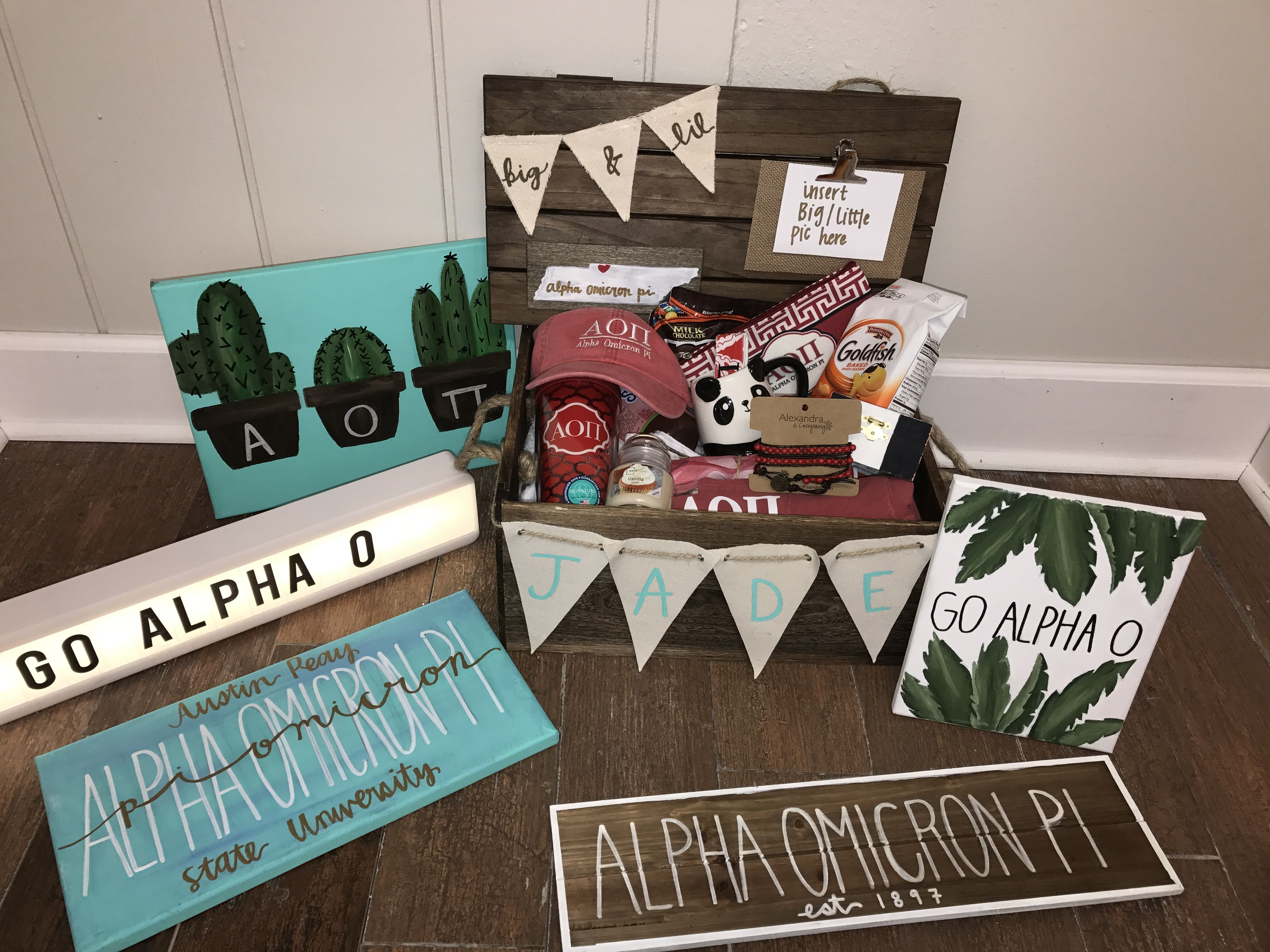 sorority big/little reveal basket #biglittlereveal sorority big/little reveal basket #biglittlereveal