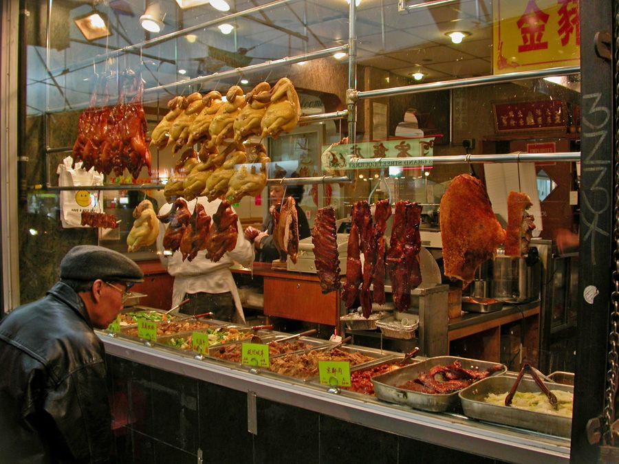 Peking Duck Soy Sauce Chicken Roast Pork Cha Sui Etc