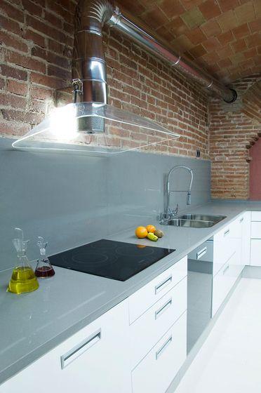 Campana di fana de bd barcelona pinteres - Campana extractora cocina industrial ...