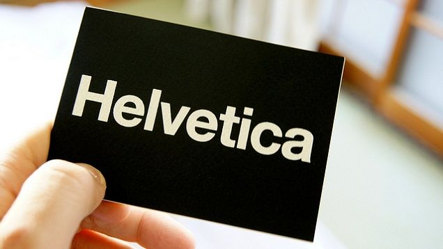 Why You May Want to Consider Using Helvetica Typeface for Your - font to use on resume