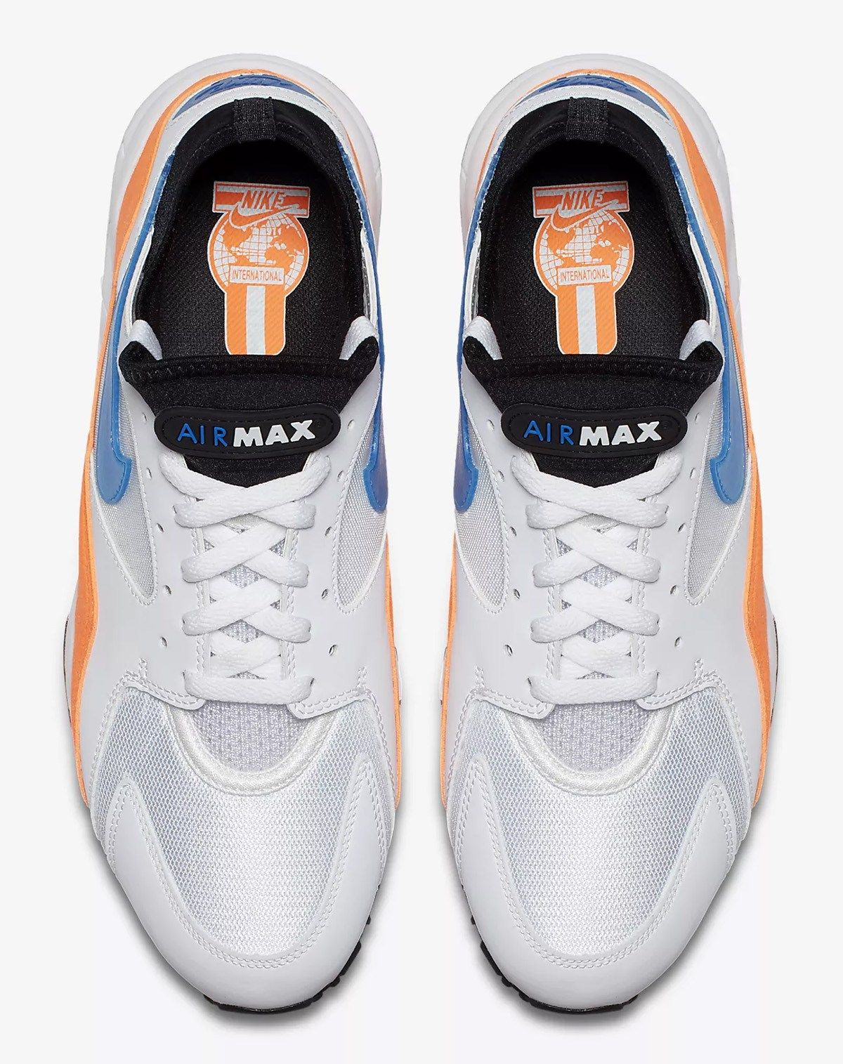 51492b194c3d Nike Air Max 93 in Total Orange Blue Nebula - EU Kicks  Sneaker Magazine