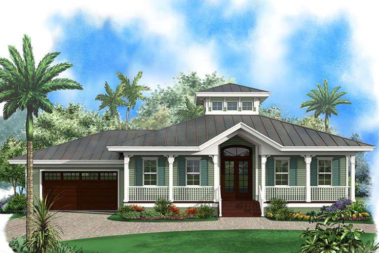 House Plan 1018 00272 Coastal Plan 1 697 Square Feet 3 Bedrooms 2 Bathrooms In 2021 Beach House Plans Florida Beach House Beach House Interior