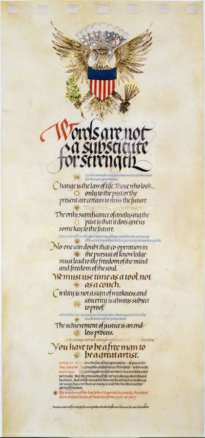 Stunning calligraphy from Donald Jackson, a calligrapher to HRH ...