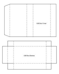 Box Templates To Print  Google Search  Gifts    Box