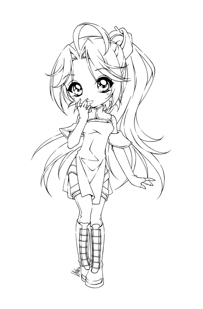 Aphmau anime pages coloring pages - Coloriage chibi ...