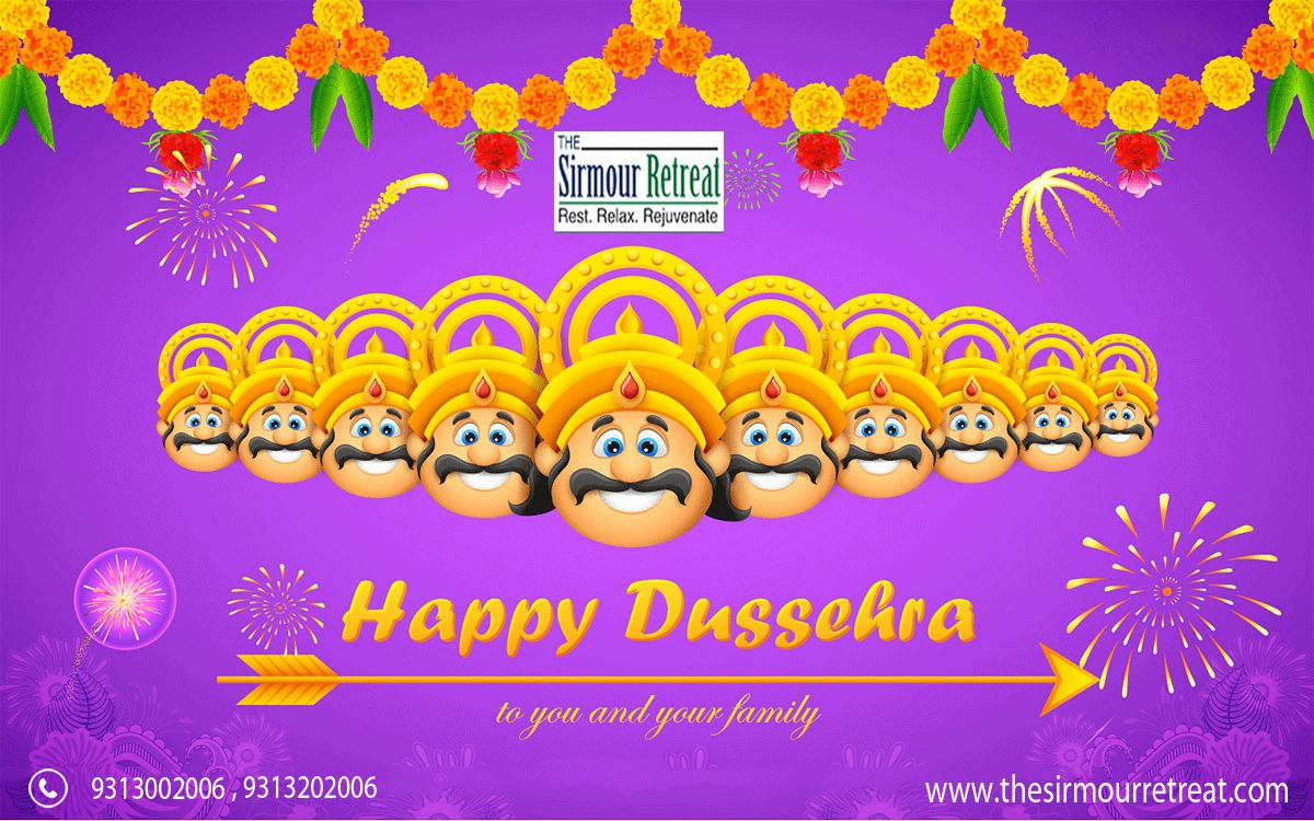 #Dussehra signifies the #victory of good over evil. May all the evils around you vanish by the virtue of the #goodness in you #HappyDussehra