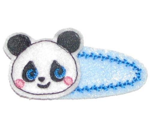 panda head clippie