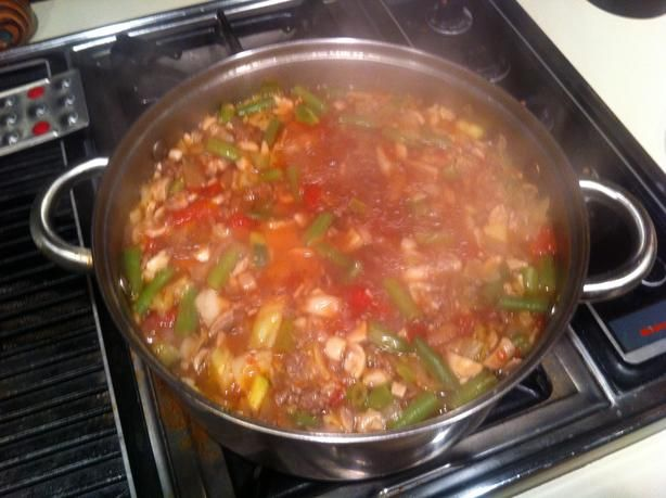 recipe: low carb vegetarian vegetable soup recipe [37]