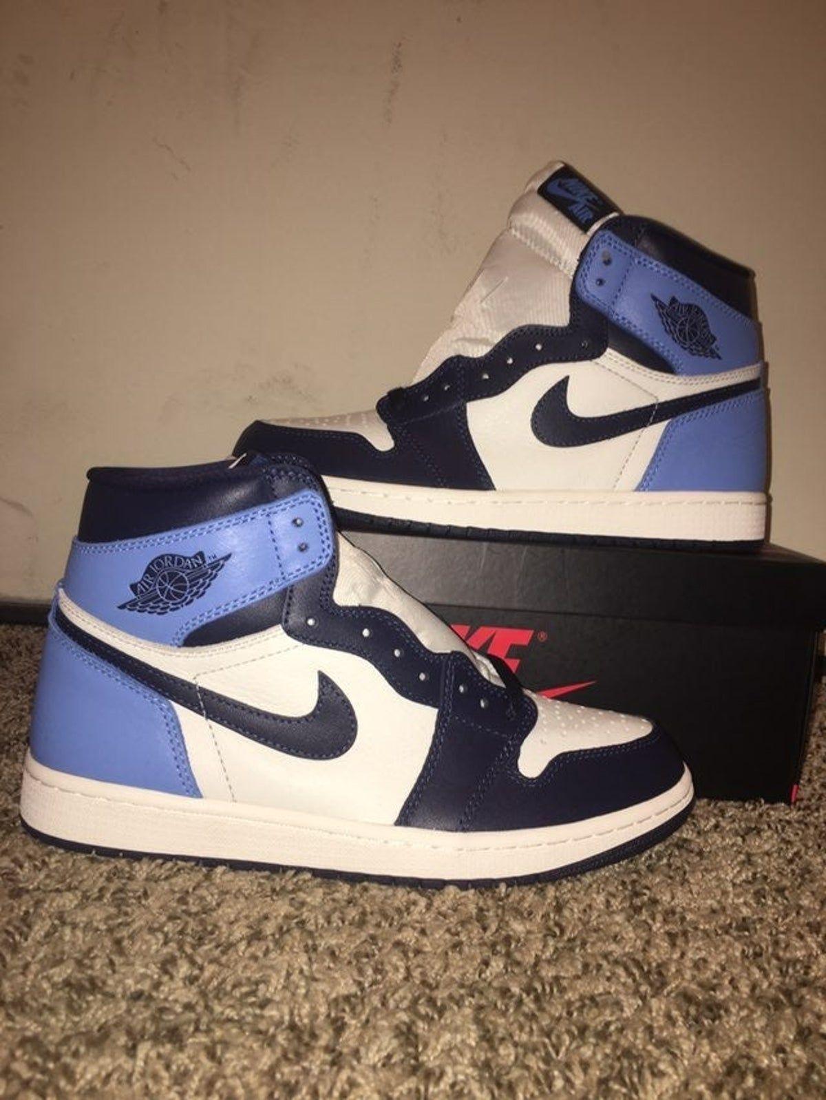 air jordan 1 retro high blu