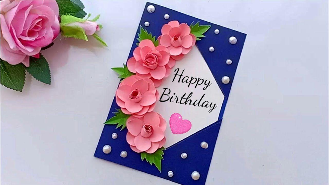 Beautiful Handmade Birthday Card Birthday Card Idea Handmade