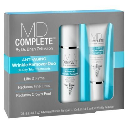 Md Complete Anti Aging Wrinkle Remover Duo 30 Day Trial Kit Finditattarget Wrinkle Remover Anti Aging Cleansers Anti Aging Wrinkle Creams
