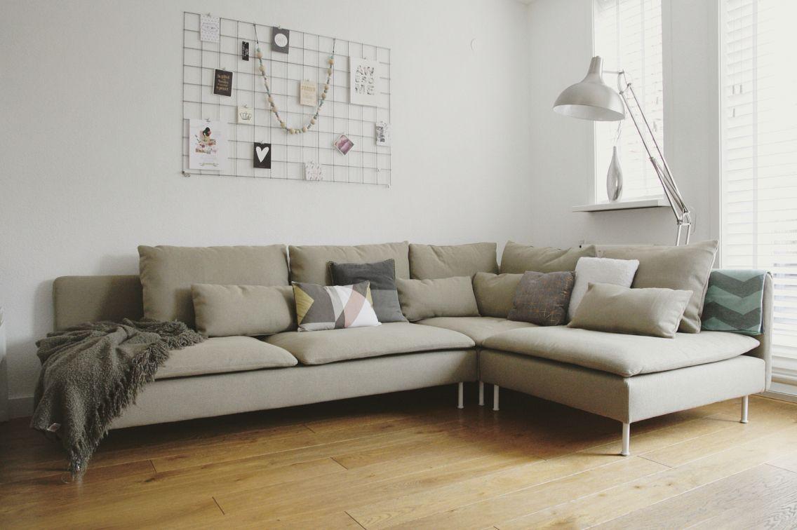 Ik mijn nieuwe s derhamn beige bank wohnzimmer for Bank wohnzimmer