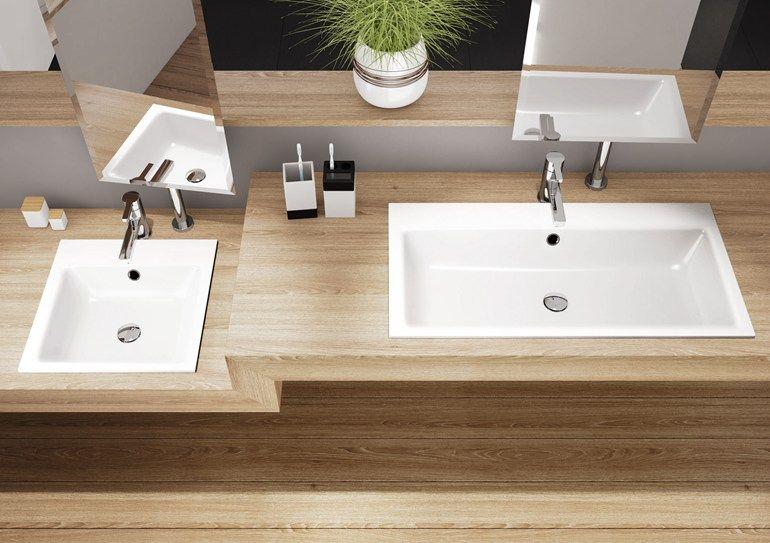 kaldewei puro waschtisch badezimmer in 2018 pinterest einbauwaschbecken italia und stahl. Black Bedroom Furniture Sets. Home Design Ideas