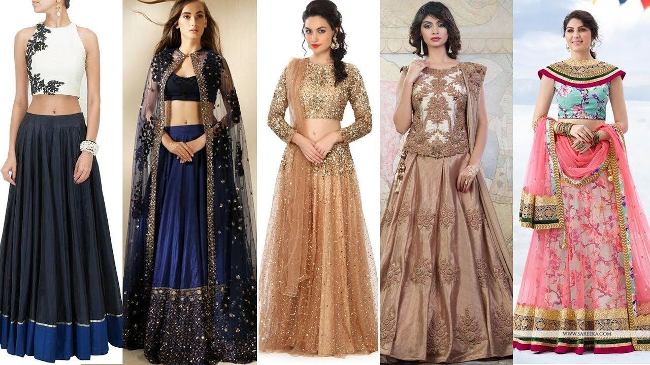 f6e8329ca6d88 Latest Blouse Designs for Lehenga Choli 2017