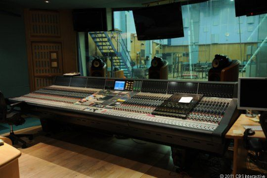 This is the mixing console for Abbey Road Studio's Studio 1. According to sound engineer Simon Rhodes, the studio works with the manufacture...