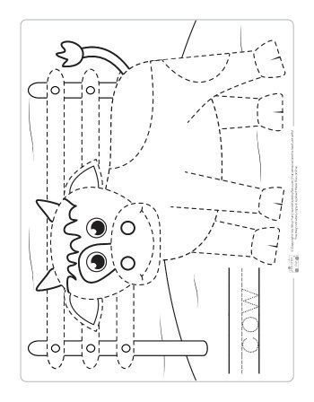 farm animals tracing coloring pages tracing farm animal crafts farm animals for kids farm. Black Bedroom Furniture Sets. Home Design Ideas