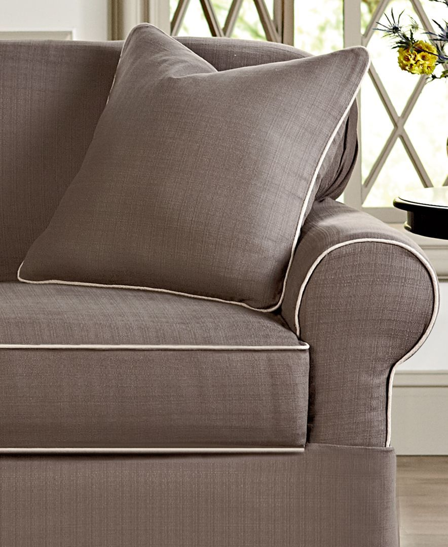 Chaise Lounge Sofa Sure Fit Bahama Piece Petite Sofa Slipcover