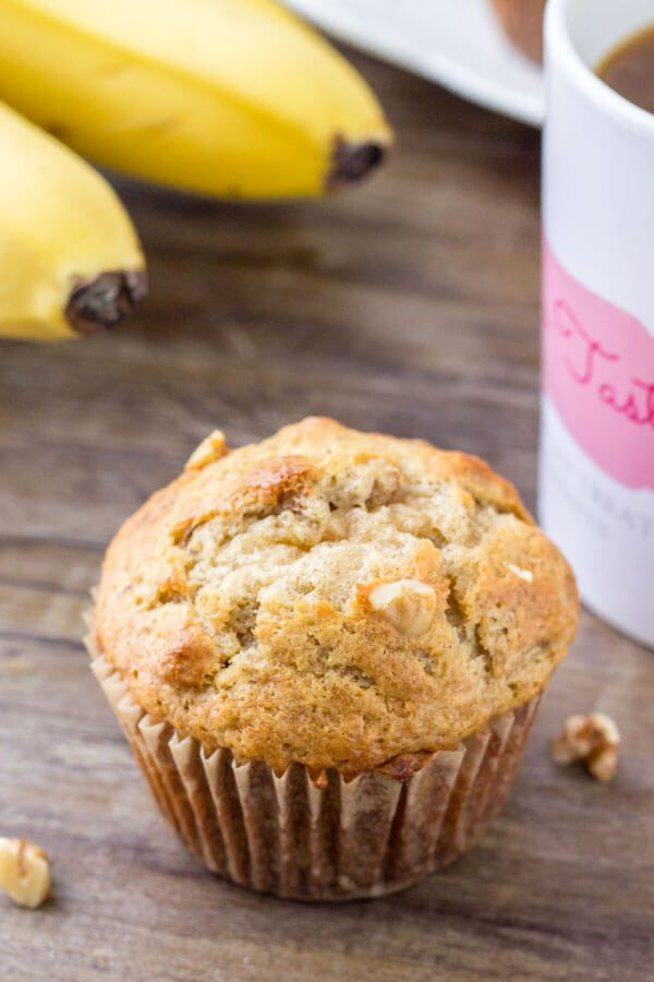 Banana Bread Muffins Recipe Banana Bread Muffins Sour Cream Banana Muffins Banana Bread Muffin Recipe