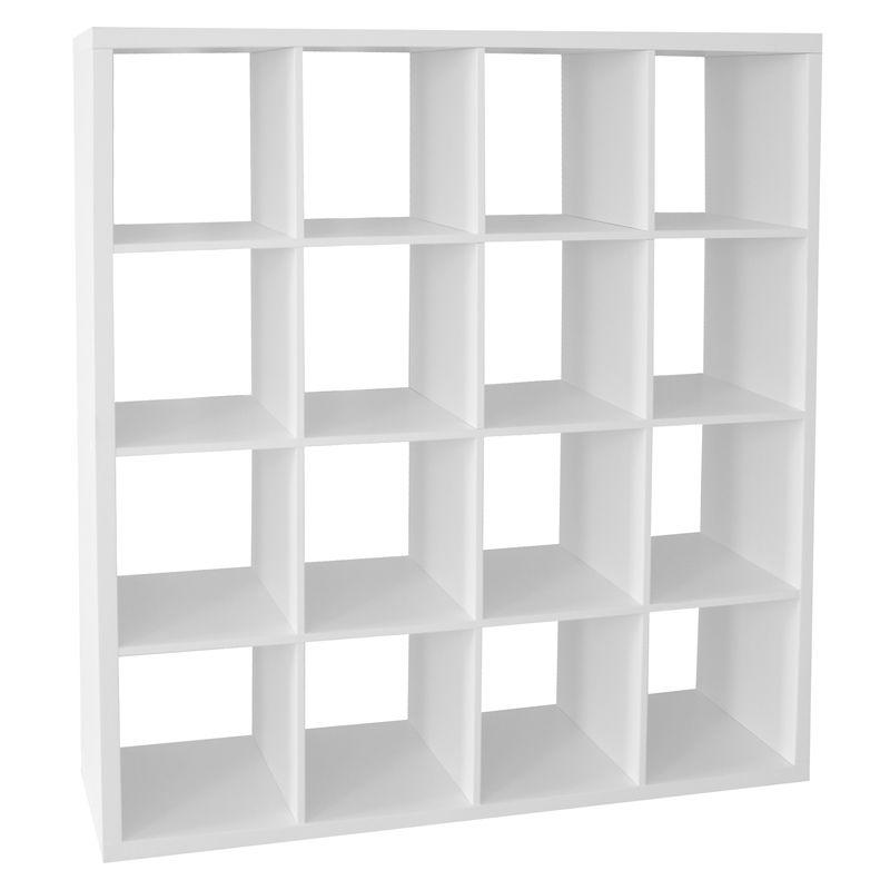 Clever Cube 4 X 4 White Cube Storage White Storage Cube Storage Unit