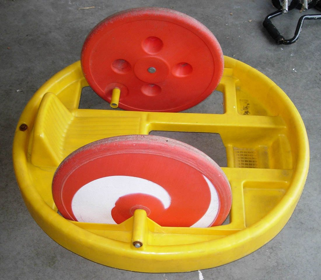 Big Wheel Toys For Toddlers : Marx krazy kar spinning ride on toy c big wheel