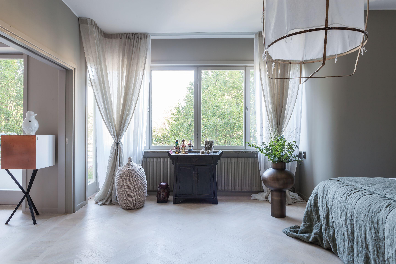 Scandinavian Bedroom Blue Valhallavagen 129