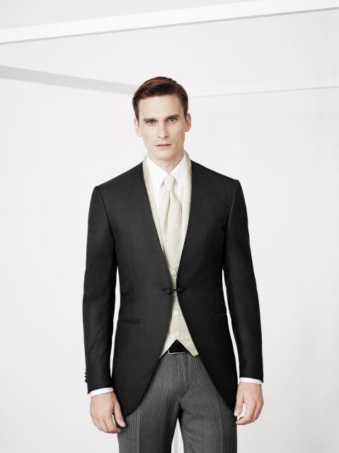 authentic high fashion watch Mezzo tight in lana e seta.Giacca effetto diamantino, tono ...