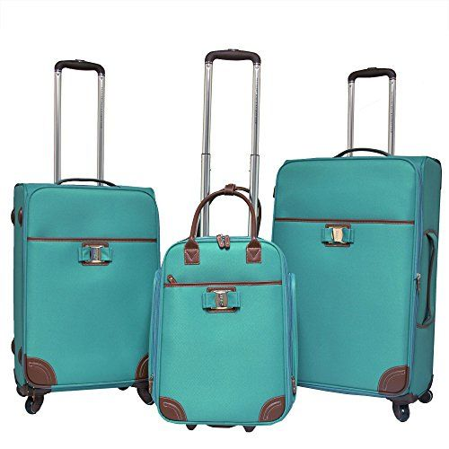 0c1f32b2ec32 Pin by Hannah Maske on Traveler in 2019   Suitcase set, Luggage sets ...