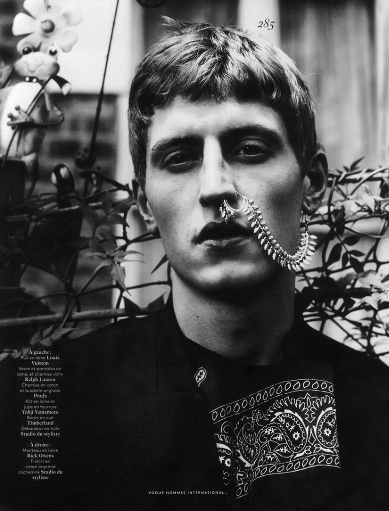 Chris Beek by Willy Vanderperre for Vogue Hommes International Fall/Winter 2013/2014