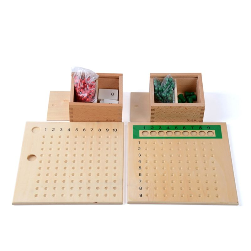 Learning & Education Fine Baby Toy Montessori Multiplication Bead Board And Division Bead Board For Early Childhood Education Preschool Training Toys Toys & Hobbies