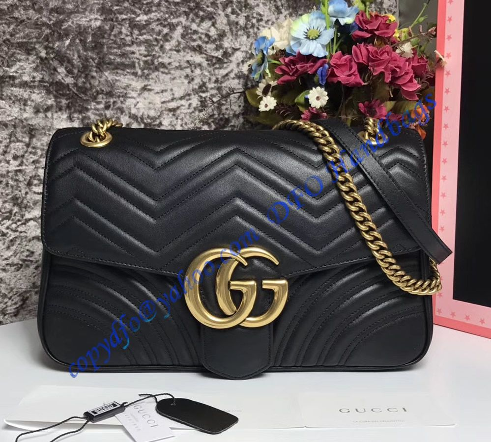 6a5fa5a978b Shop for a Gucci Medium GG Marmont Matelasse Shoulder Bag at wholesale  price- USD 372. Free Worldwide Shipping.