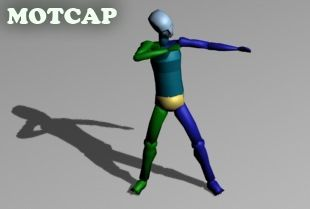Loading arrow and shooting – 3d motion capture bip animation file from motcap.com