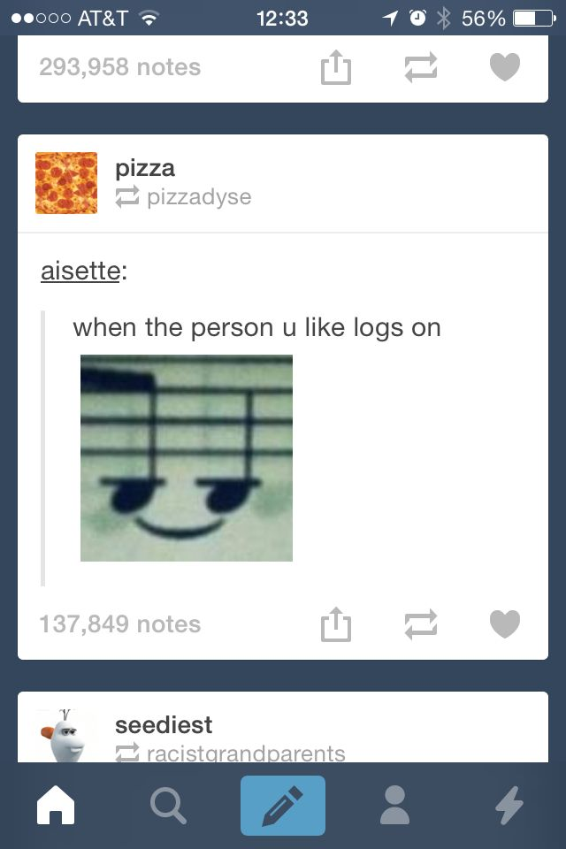Tumblr funny hhahah i havent even benn on tumblr long and i have a small one XD