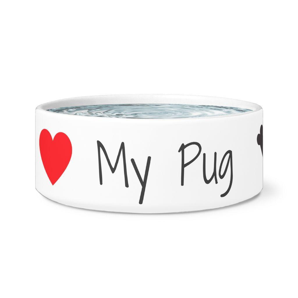 I Love My Dog - The Best Dog Feeding Bowl